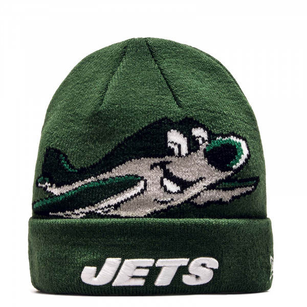 Beanie Infant Jets Green