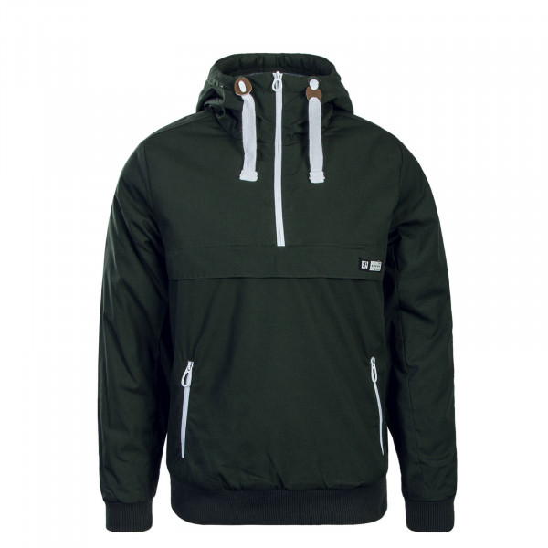 Herren Windbreaker Green White