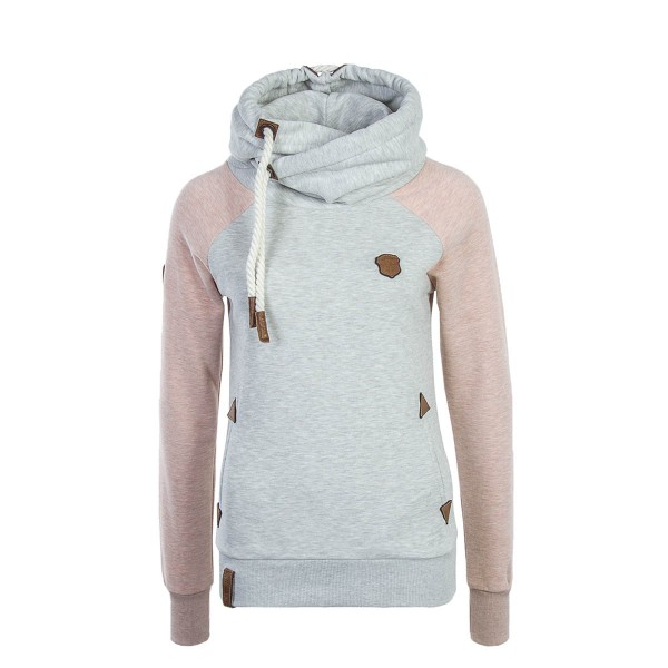 Naketano Wmn Hoody So Ein Otto Grey Pink