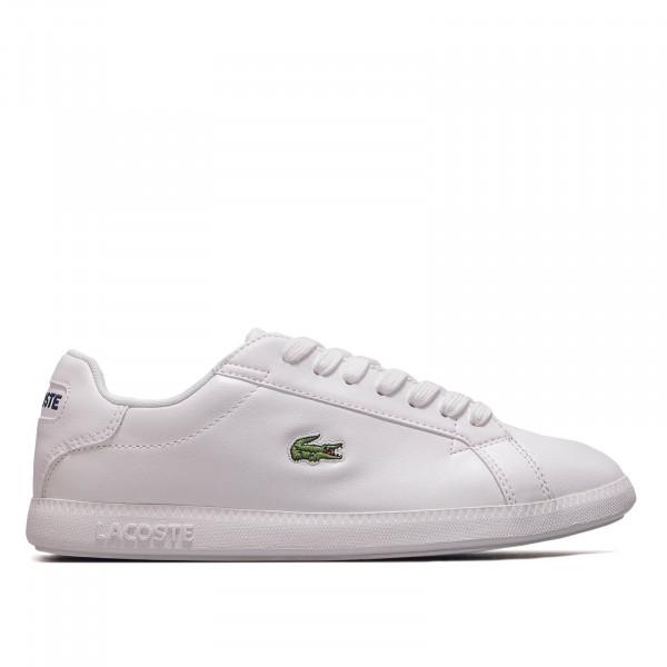 Damen Sneaker Graduate White White
