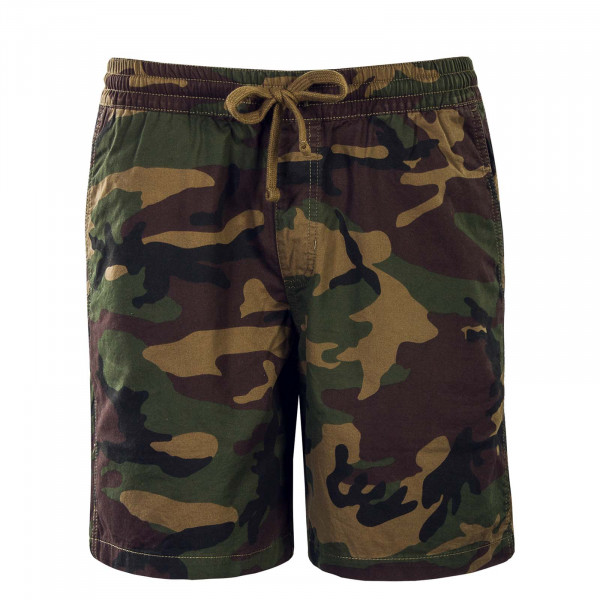 Herren Short Range 18 Camouflage Green