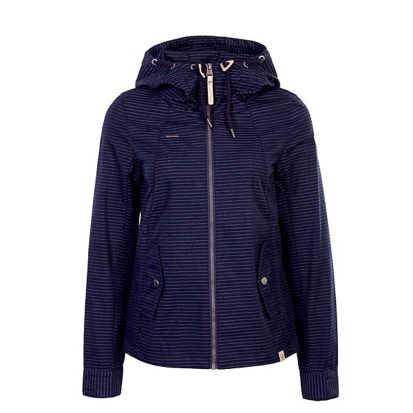 Damen Jacke Monade Stripes Navy
