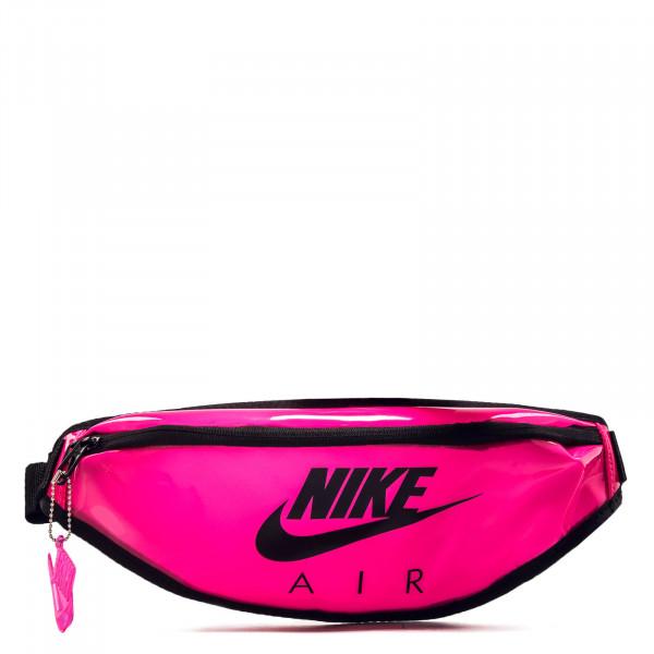 Hip Bag Clear Pink Black