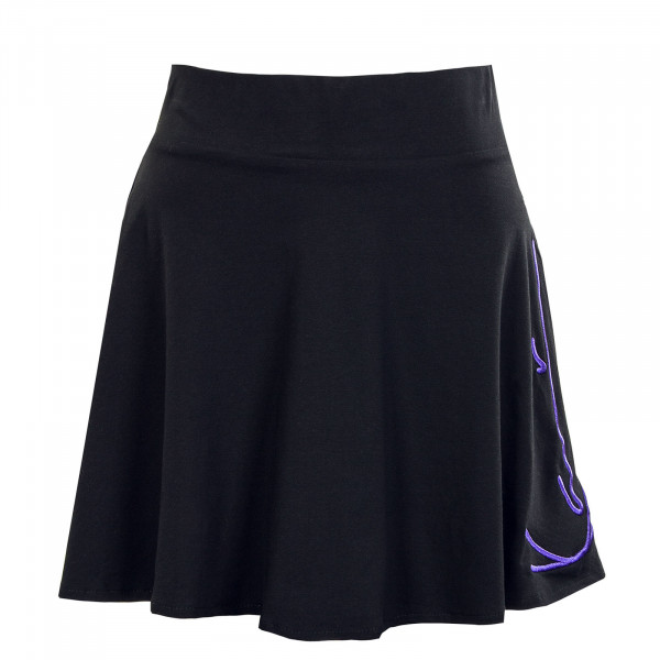 Damen Rock - Signature Washed Skirt - Black