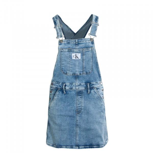 Damen Jeanskleid - Dungaree Dress - Denim Light