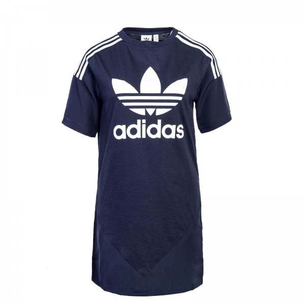 Adidas Dress 1565 Navy White Stripe