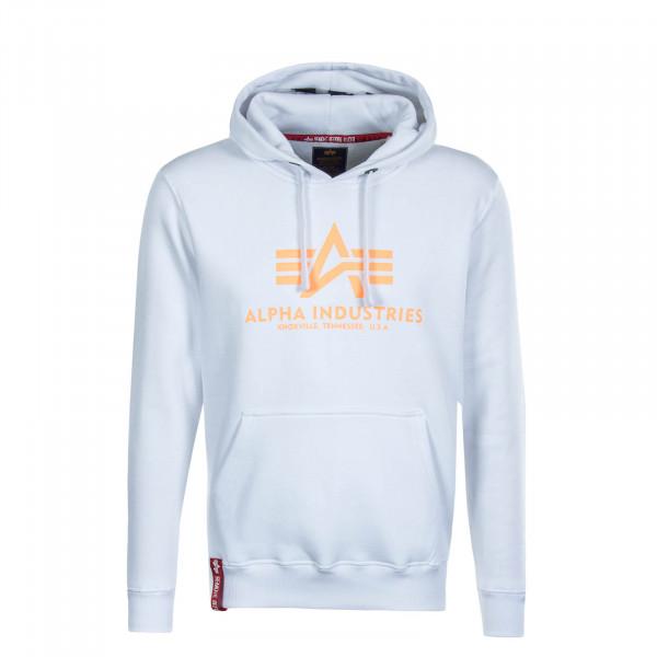 Alpha Industries Hoodie Herren white im Online Shop von