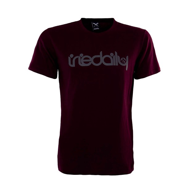 Iriedaily TS No Matter 4 Wine Grey