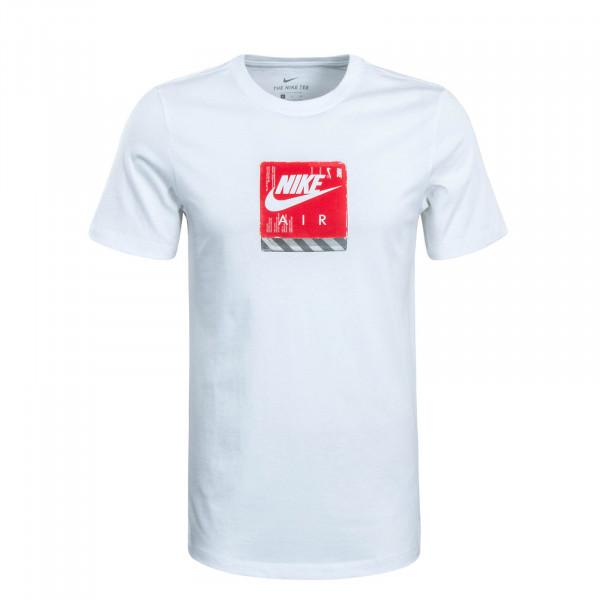 Herren T-Shirt Future Weare White Red