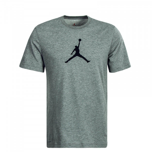 Herren T-Shirt Icon 23/7 Jumpman Grey Black