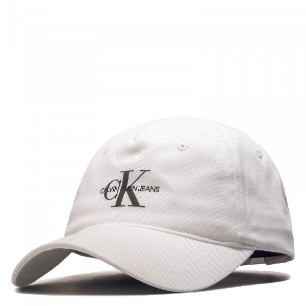 Cap J Monogram White Black