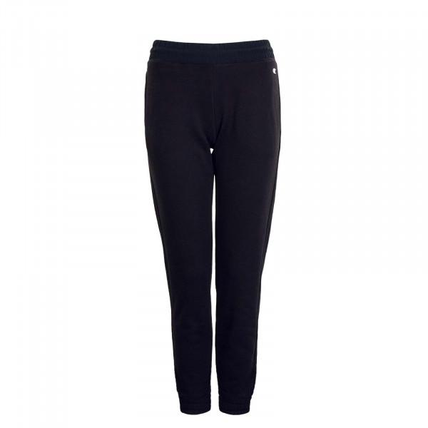 Damen Jogginghose Elastic Cuff 113253 Pant Black