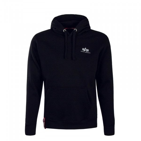 Alpha Hoody Basic Small Black