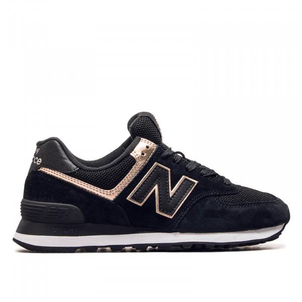 Damen Sneaker WL 574 MEA Black Bronze