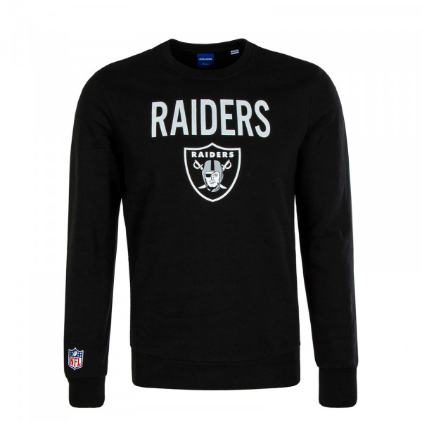Herren Sweater Superen Raiders Black