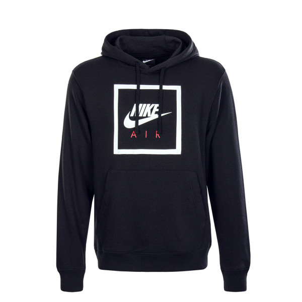 Herren Hoody Nike Air Black White