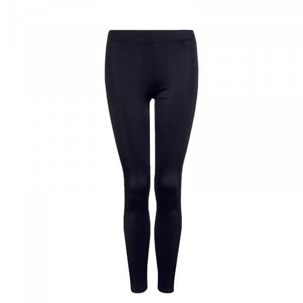 Damen-Leggings Shiny Long Black