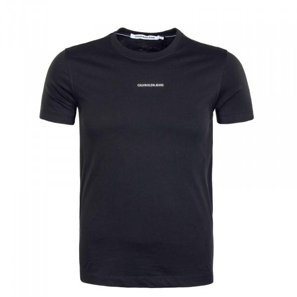 Herren T-Shirt - Micro Branding Essen - Black