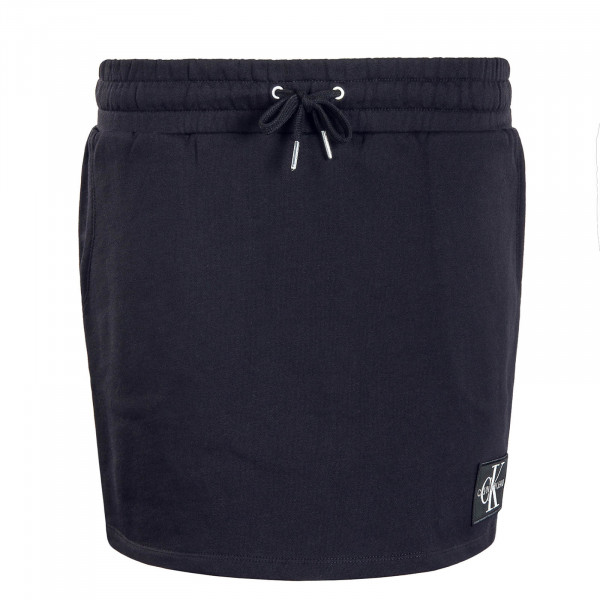 Skirt Monogram Logo Badge Black