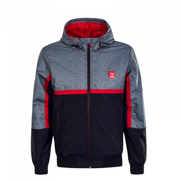 Herren Jacke Rastron Grey Red Elephant