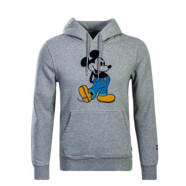 Damen Hoody Graphic Mickey PO Grey