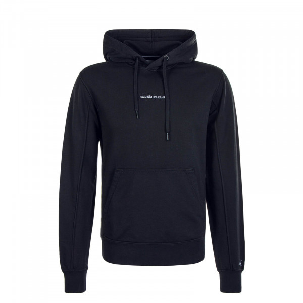 Herren Hoody Institutional Chest Logo Black