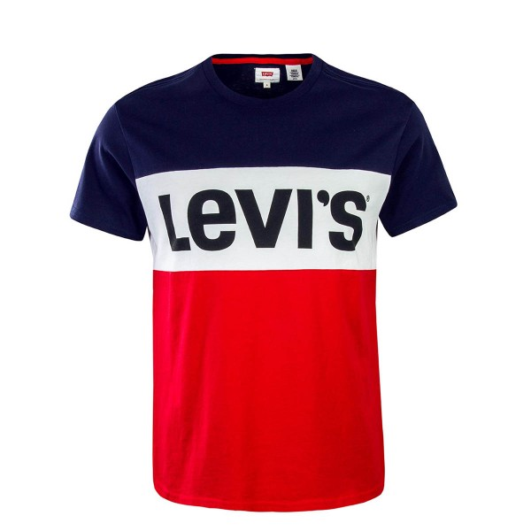 Levis TS Colorblock Navy Red