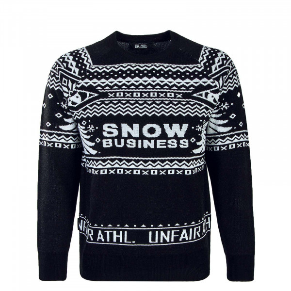 Unfair Knit Sweat Snow Business Black