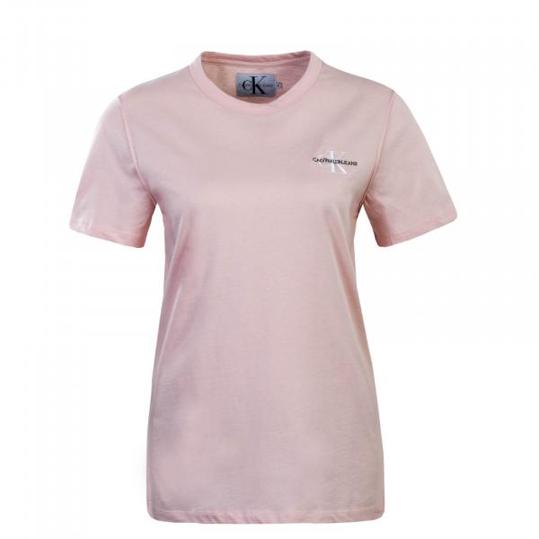 Damen T-Shirt Embroidery Rose
