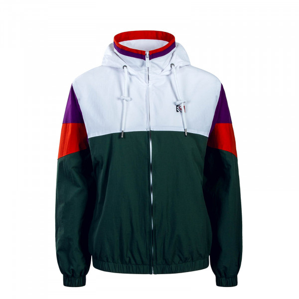 Damen Windrunner Green White Purple