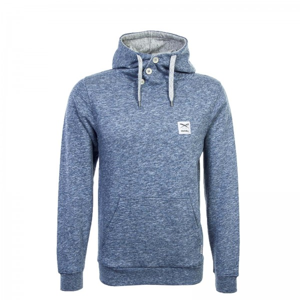 Iriedaily Hoody Chamisso 2 Up Steel Mel