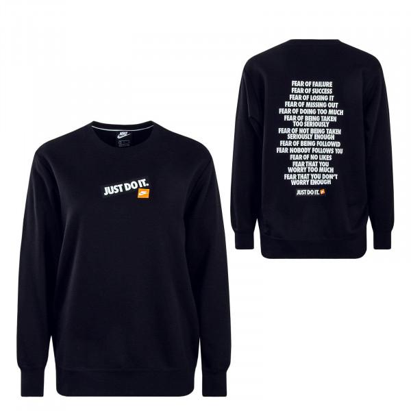 Damen Sweatshirt NSW Crew FT JDI Black