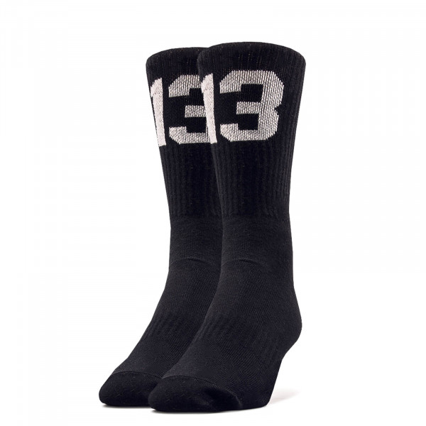 Unisex Socken 13Socks12 Black White