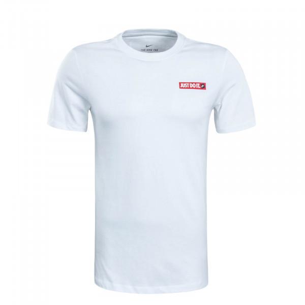 Herren T-Shirt Just Do It 2 White