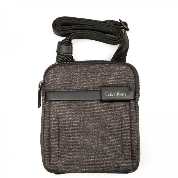 CK Bag Neil Mini Flat Cross Black