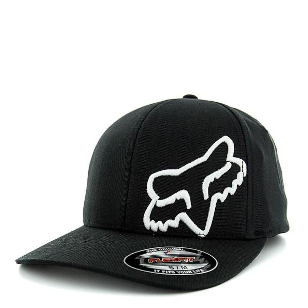 Fox Cap Flex 45 Black White