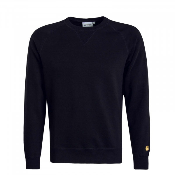 Herren Sweat Chase Black Gold