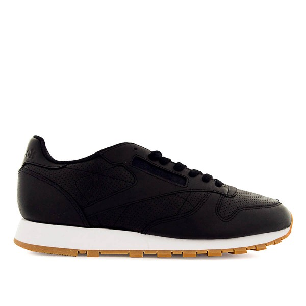 Reebok Cl Leather PG Black White