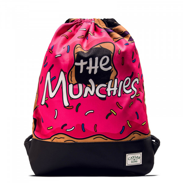 Cayler&Sons Gymbag Munchies Pink Black