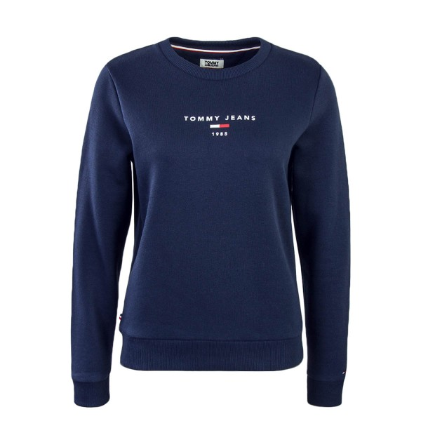 Tommy Wmn Sweat Clean Logo Navy