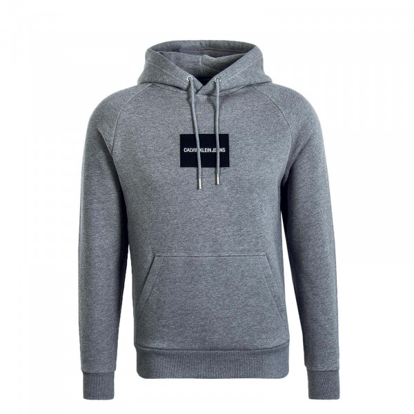 Herren Hoody Colour Block Grey