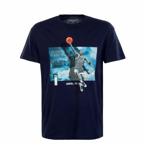 Herren T-Shirt - Legends Statement - Navy