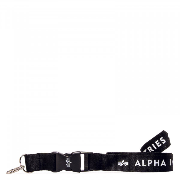 Lanyard Black White