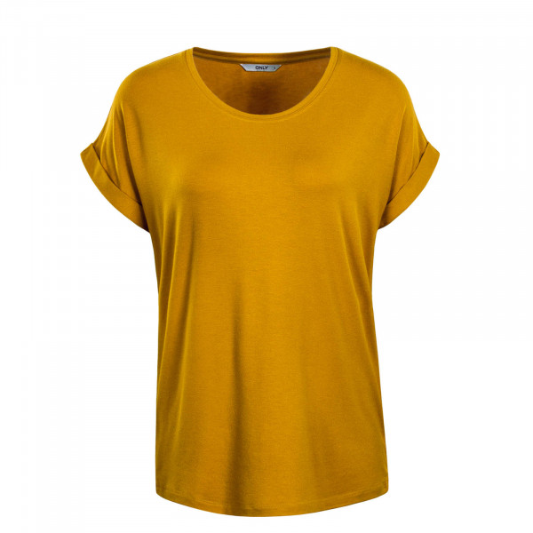 Damen T-Shirt Moster Golden Yellow