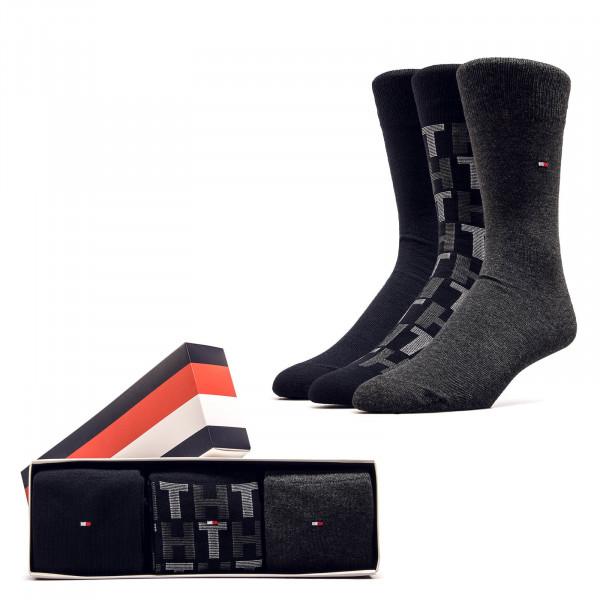 3er-Pack Socken Giftbox Mixed Black