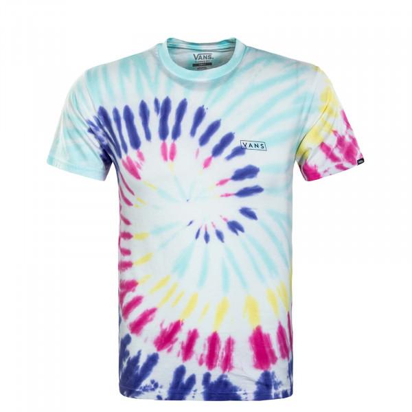 Herren T-Shirt - Drop V Spiral Rainbow Spectrum - Multi