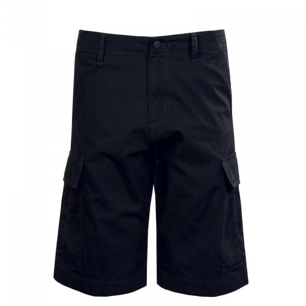 Herren Short - Regular Cargo - Black