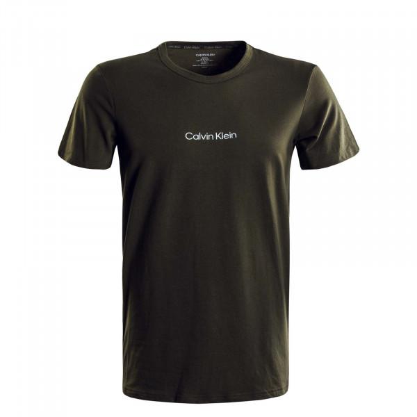 Herren T-Shirt - Crew Neck - Army Green