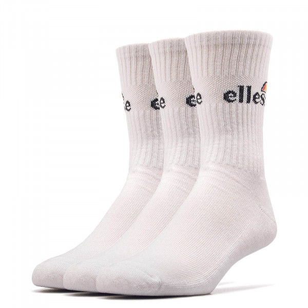 Ellesse Socks Arrom 3er Pack White
