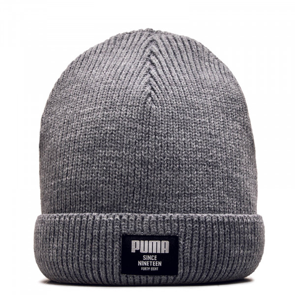 Beanie Ribbed Classic Medium Grey